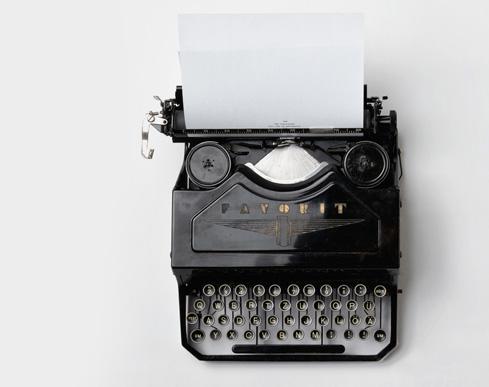 Empresas traduccion typewriter