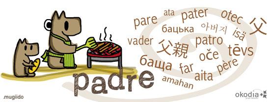 palabra padre traducida en varios idiomas