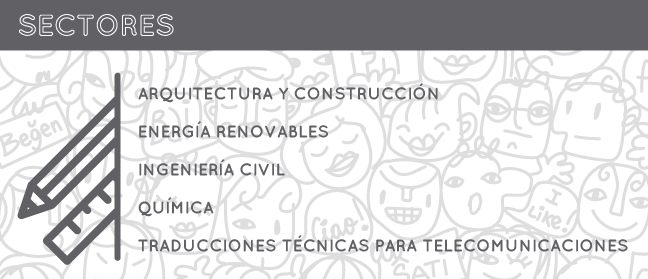 Sectores de la traducción técnica.2