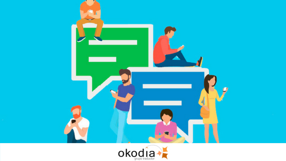 idiomas en redes sociales