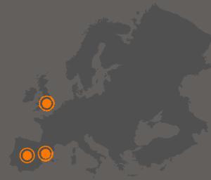 mapa de las oficinas de okodia