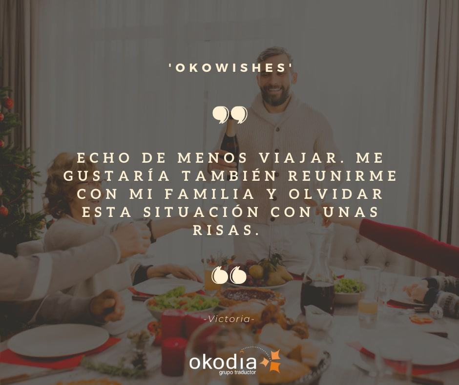deseos Okodia, Los mejores deseos de Okodia para acabar bien 2020 y para recibir con fuerzas 2021