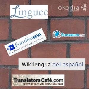 Iconos de diferentes recursos útiles para traductores.